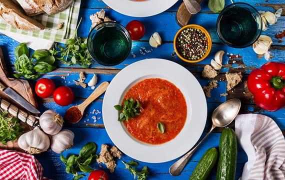 gazpacho alimentos andalucia