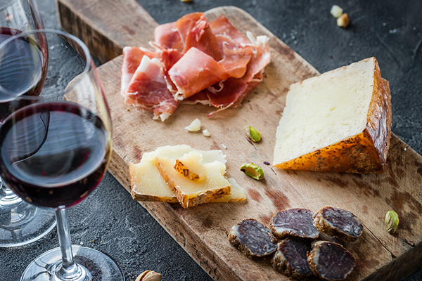 jamon queso alimentos andalucia