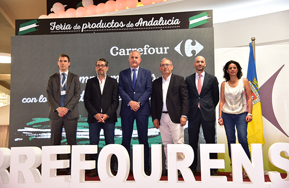 feria carrefour productos andaluces