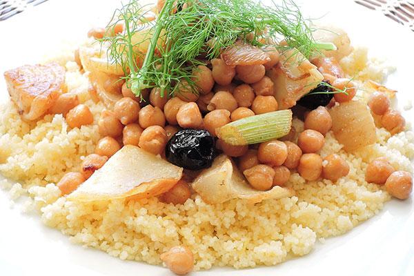 garbanzos couscous alimentos andalucia