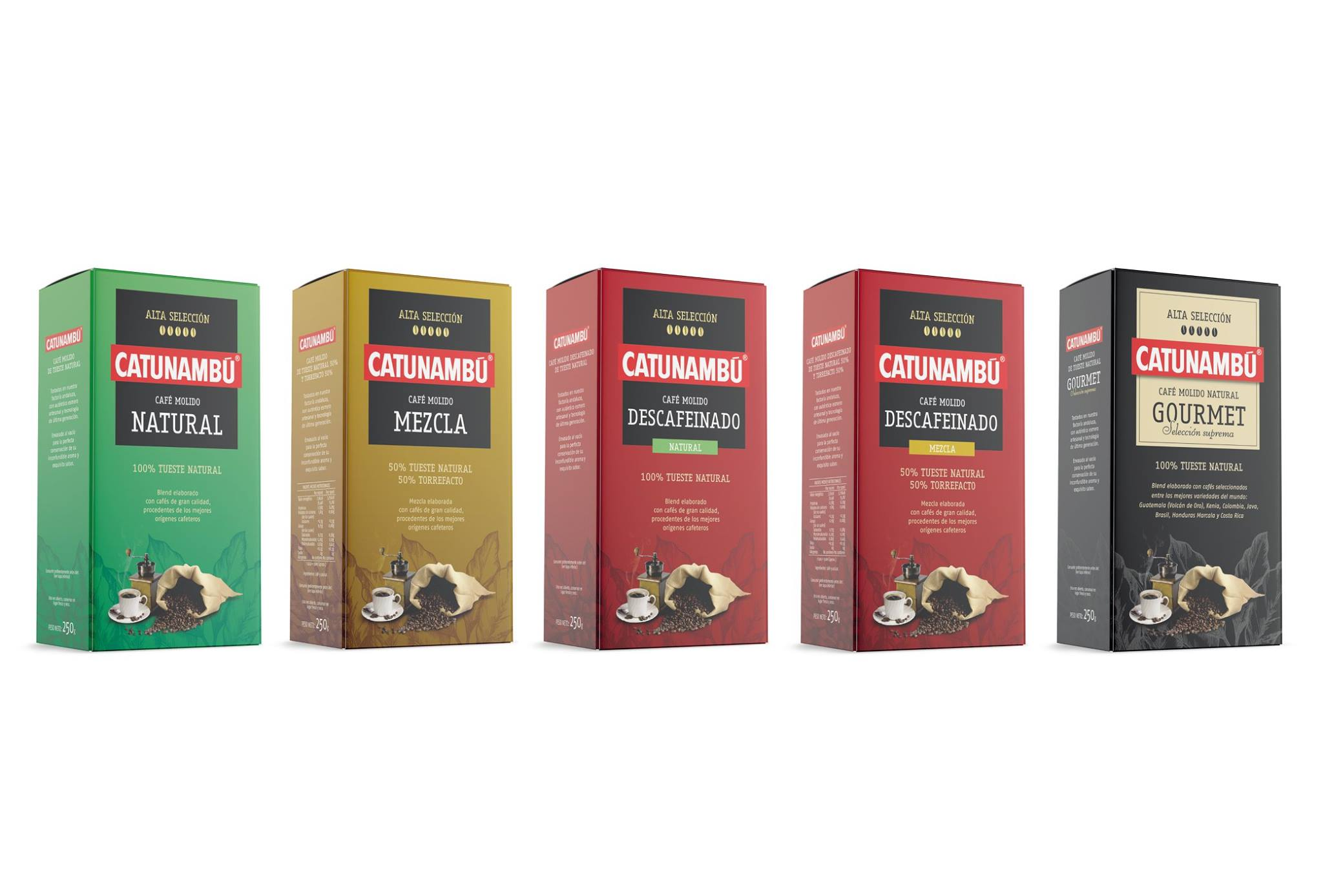 La nueva imagen -packaging- de Catunambú