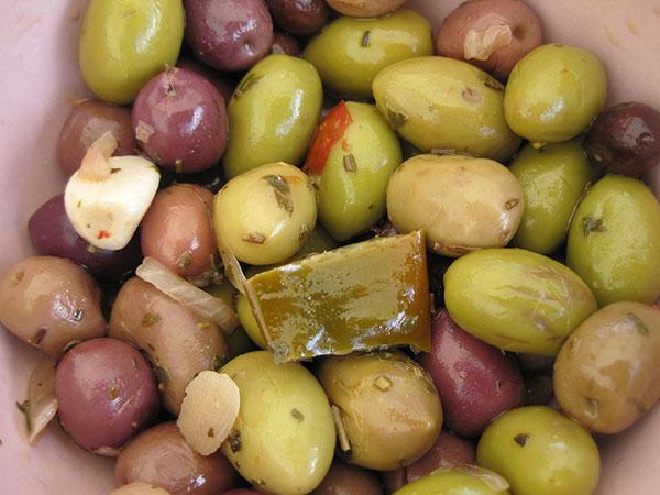aceitunas alimentos andalucia
