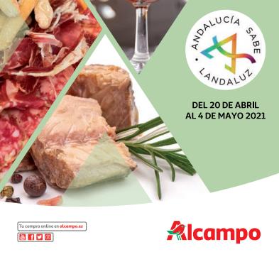 Imagen del folleto de Alcampo