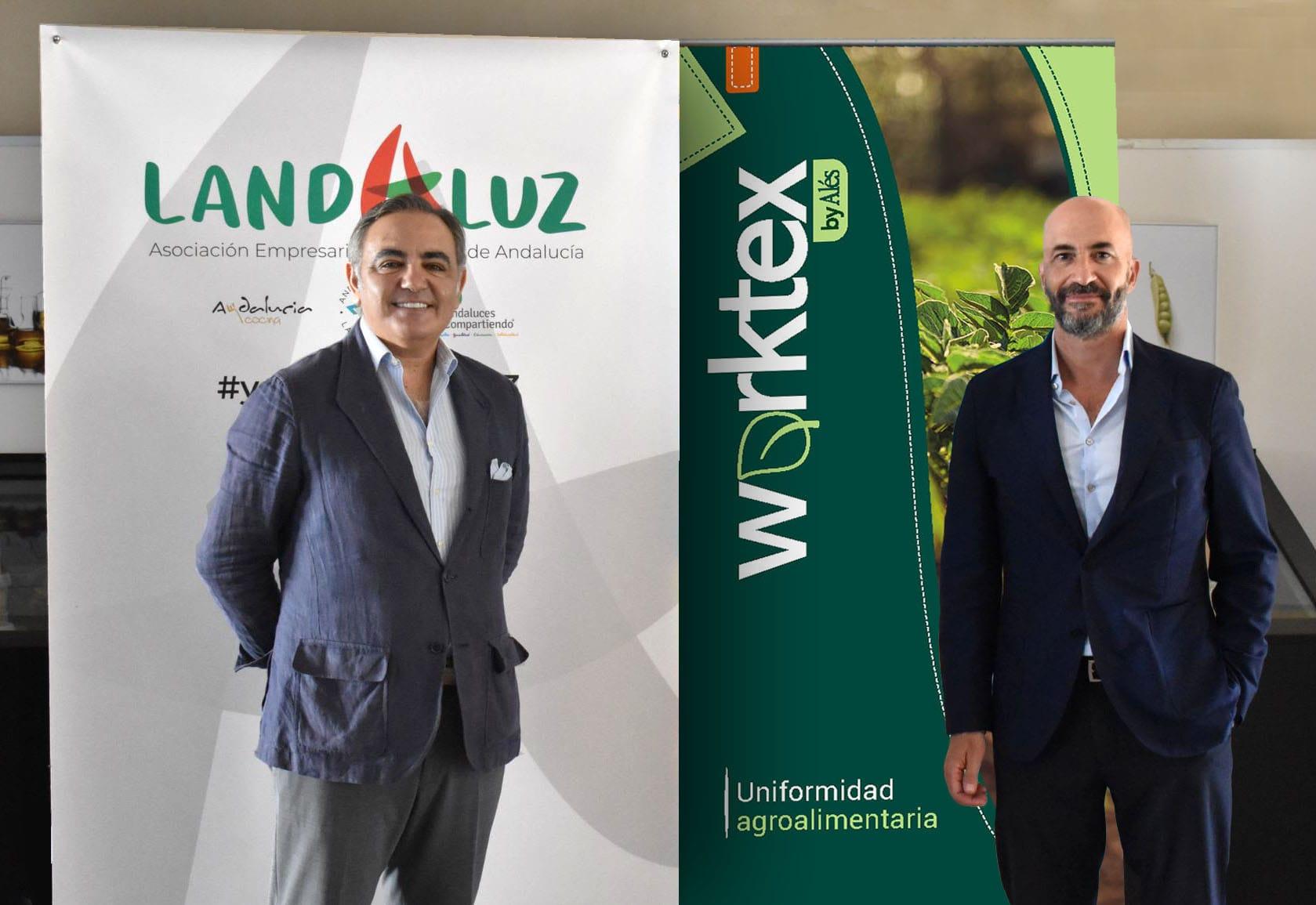 LANDALUZ y ALÉS se unen para dotar de soluciones en uniformidad al sector agroalimentario andaluz